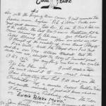 Letter from Eubie Blake pg. 2
