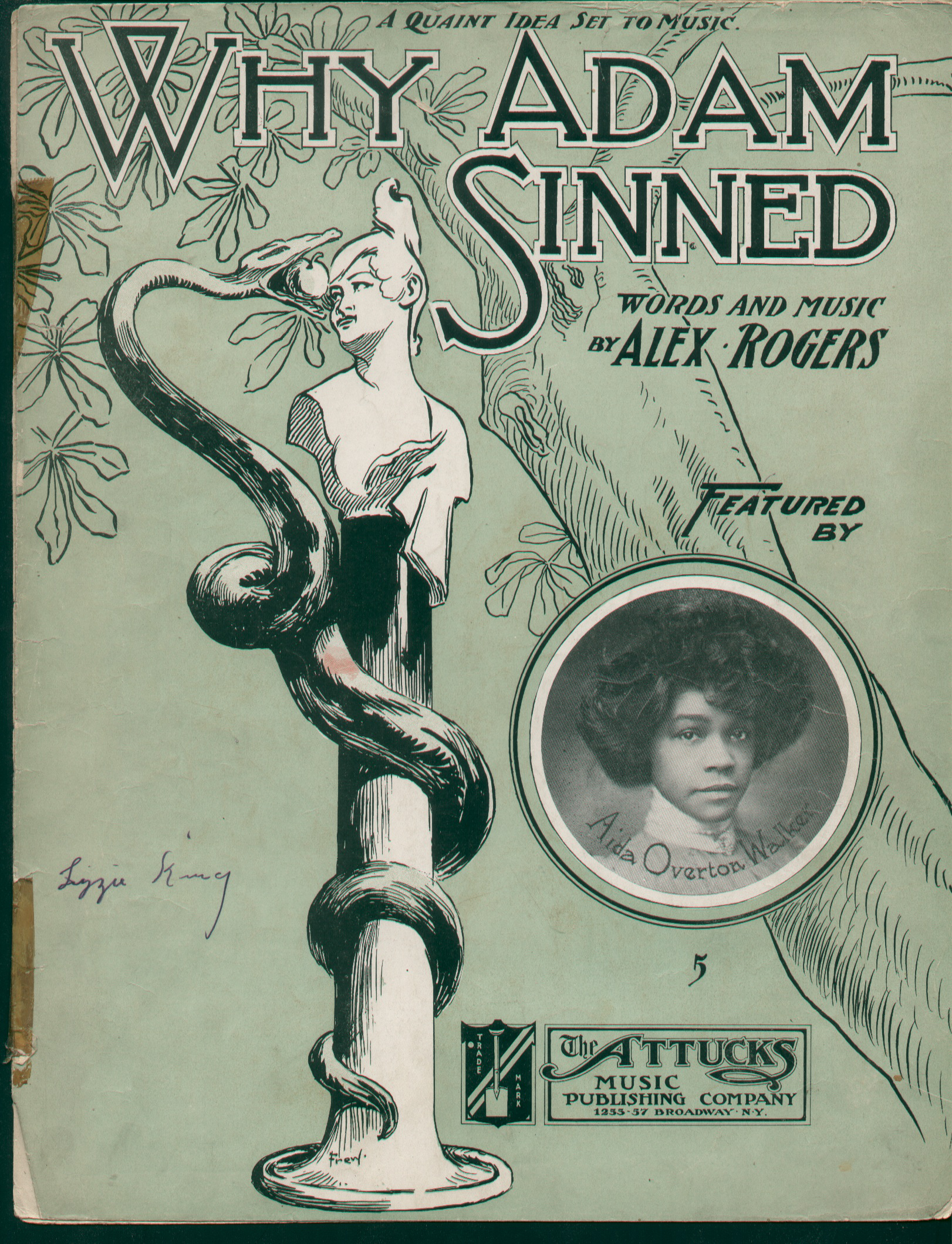 1904 Why Adam Sinned