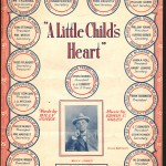 1920 A Little Child's Heart Front Cover