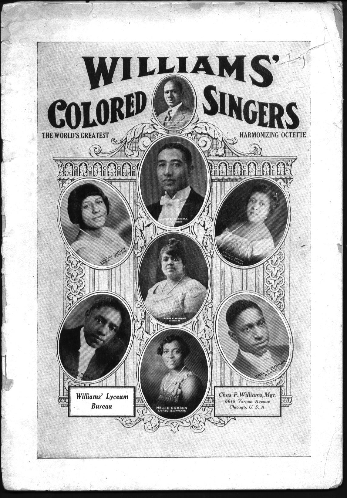 1924 Williams' Colored Singers
