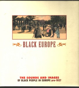 Black Europe Front Cover